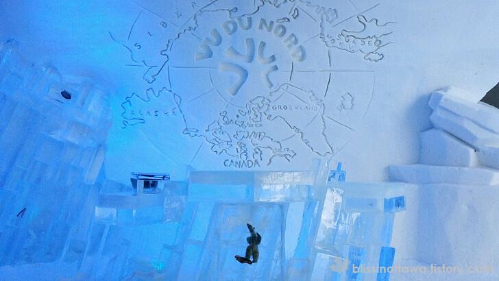 북극 지도 입니다