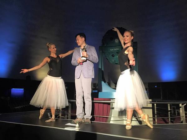 독일 Fulldome Festival에서 Astro Awards 수상