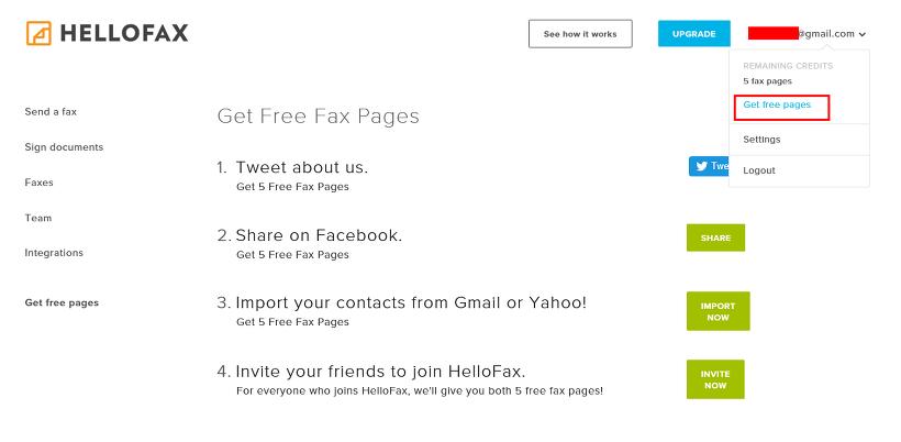 하나팩스 - 인터넷으로 팩스보내기 쉽게!
