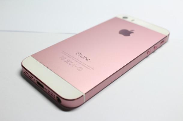 아이폰5s 핑크 하우징으로 교체! 아름다운 색깔에 반하다!