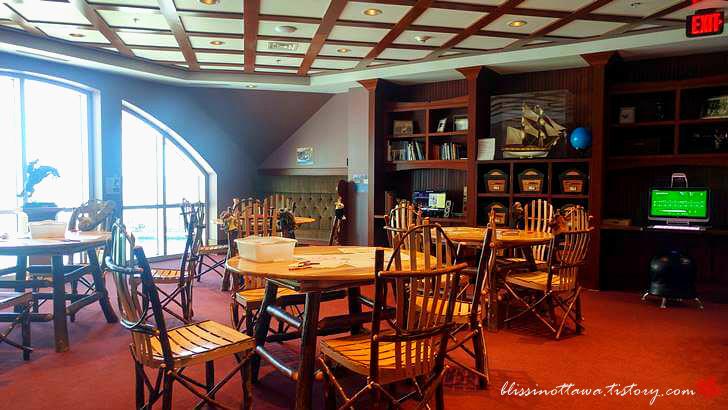 천섬 싱어 성 도서관입니다