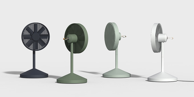 *포터블 선풍기 jiyoun kim studio-collapsible conbox fan