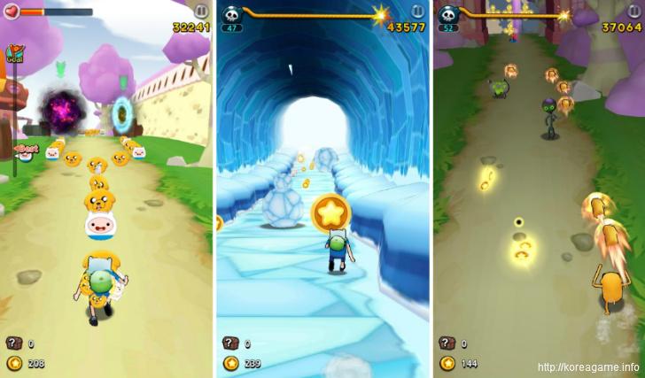 어드벤쳐타임 런 게임_Adventure Time Run Game