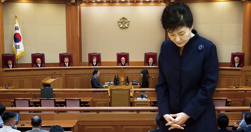 """""""2월말~3월초 탄핵인용 결정"""""""