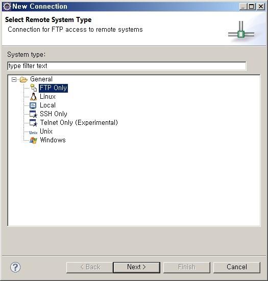 이클립스 FTP 연동, 이클립스 FTP 접속, 이클립스 FTP 연결, Remote System Explorer, 이클립스 FTP 파일 편집, 이클립스 원격 프로그래밍, FTP 환경설정