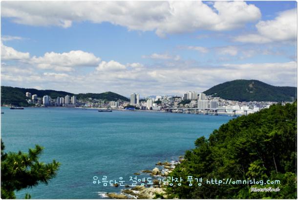 남항대교 송도 방향 풍경