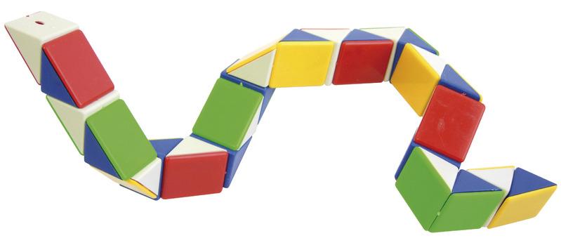 척척이 큐브 또는 스네이크 큐브