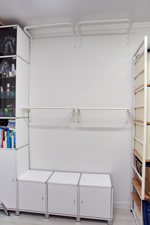 이케아 물리그 벽고정 행거바 IKEA MULIG 101.794.36