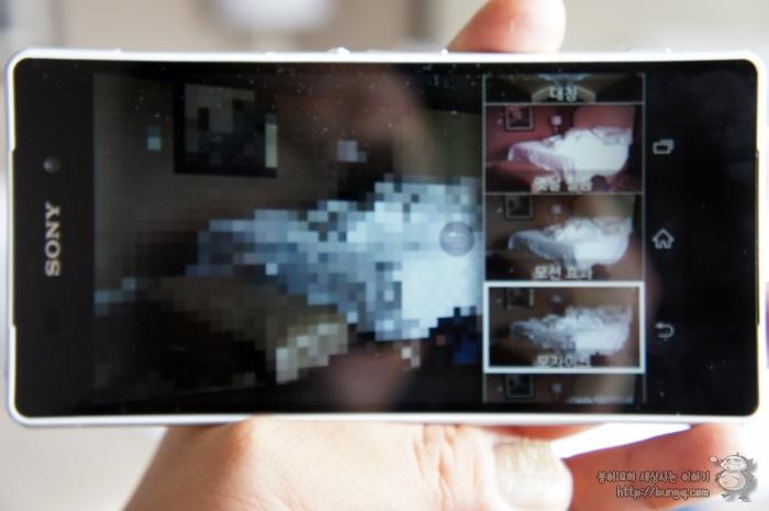 엑스페리아z2, 카메라, 기능, 창의적 효과, 샘플