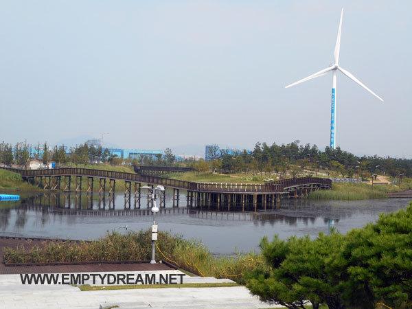 정서진 노을종, 아라빛섬, 국토종주 자전거길 등 구경