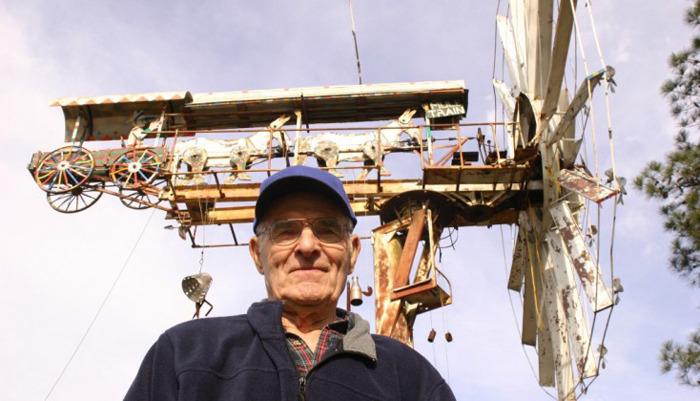 바람개비 아티스트 Vollis Simpson