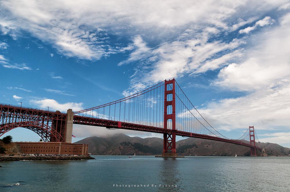 <미국_캘리포니아주> 금문교[Golden Gate Bridge]