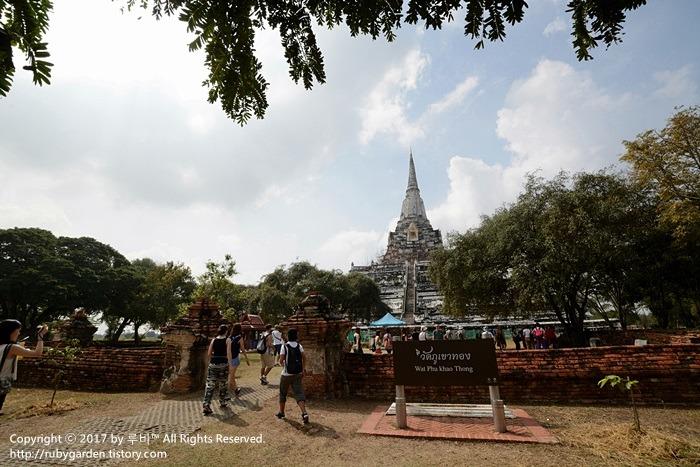 태국 여행 / 세계문화유산 고대도시 '아유타야' 1일 투어 / 왓 푸 카오 통 & 황당했던 투어 점심 식사