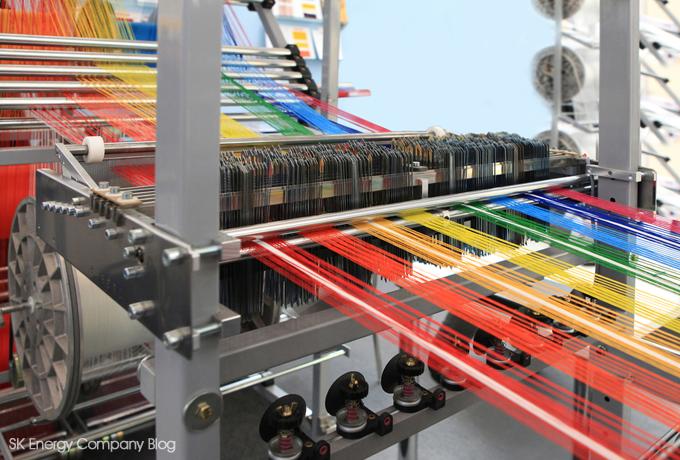 합성섬유 제작 공정