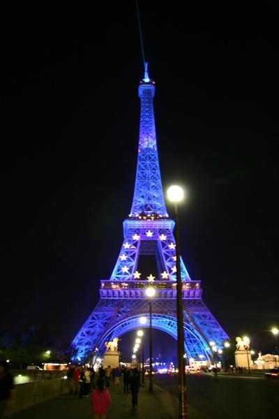 아이들이 좋아했던 파리, 에펠탑 야경