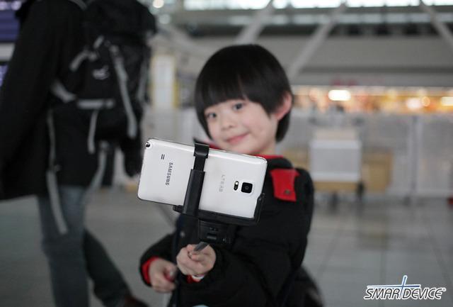 셀피, 셀카, 꽃놀이 사진, 셀카봉, 무선 카메라 리모콘, 카메라 리모컨, 삼성, 삼성전자, 갤럭시노트4,