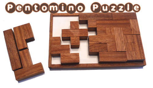 펜토미노 퍼즐 Pentomino Puzzle