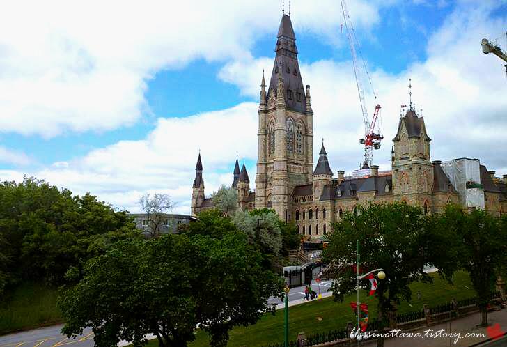 캐나다 국회의사당 서관입니다
