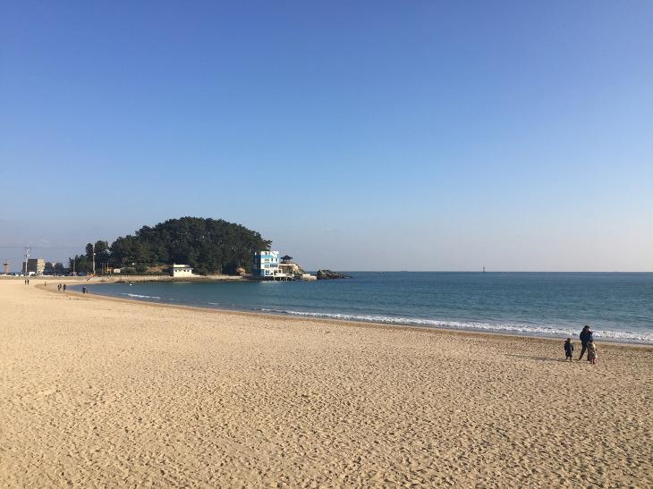 송정 바다