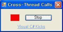 C# TCP Server, Client 예제, 크로스 스레드 응용 소스