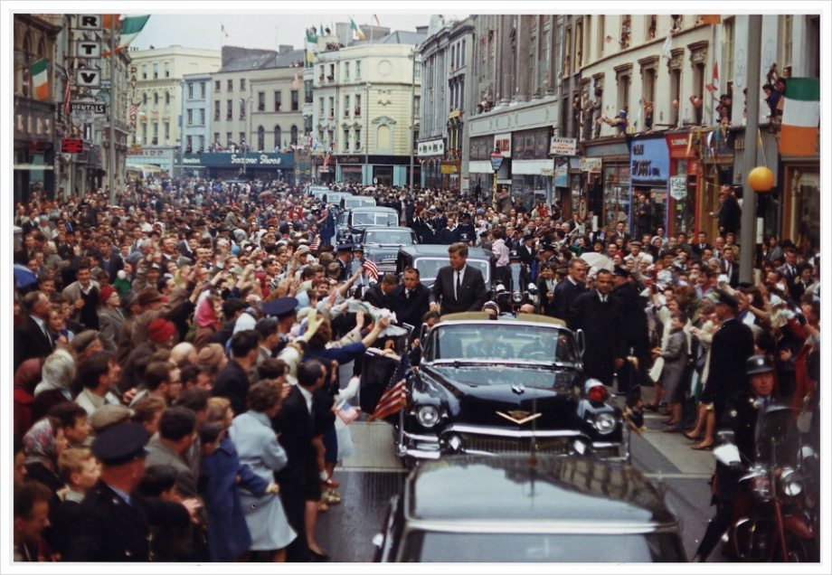 John F Kennedy( before assassinated in Dallas )