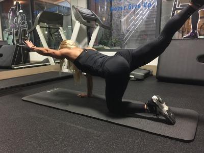 집에서하는 효과적인 허리강화 운동법