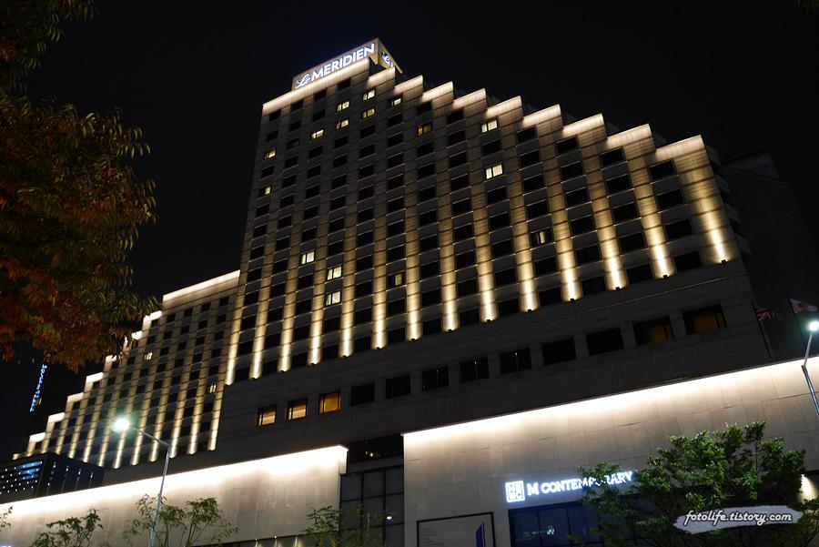 르 메르디앙 서울 호텔 뷔페 <셰프 팔레트>에 다녀왔습니다.