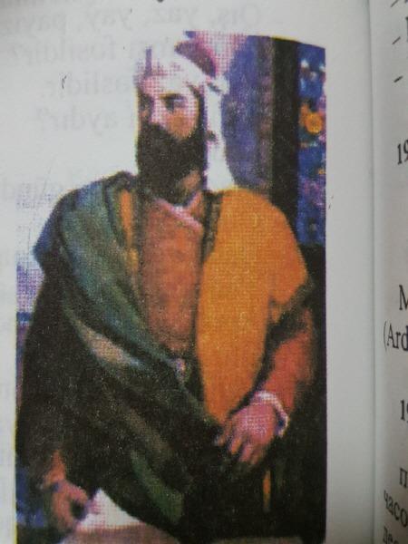 아제르바이잔 시인 니자미 겐제비