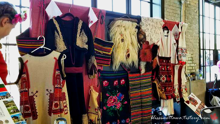 불가리아 전통 의상입니다