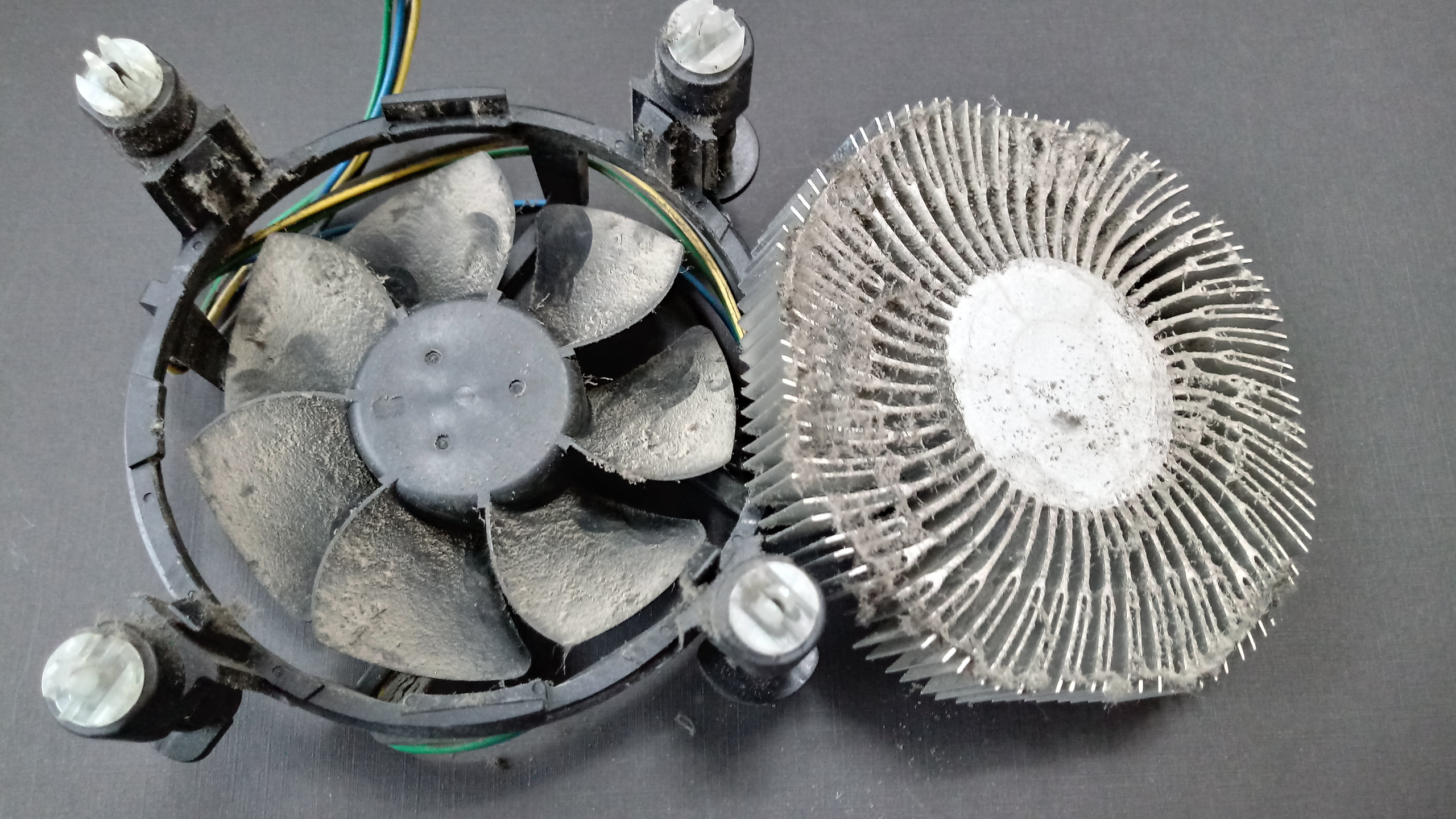 컴퓨터 인텔 CPU 쿨러청소