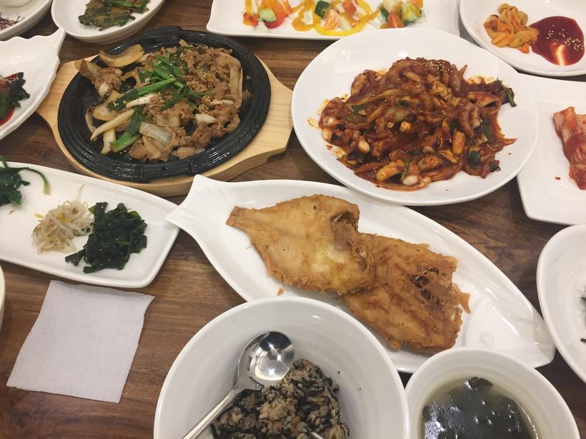 주례 통영 어부의 밥상