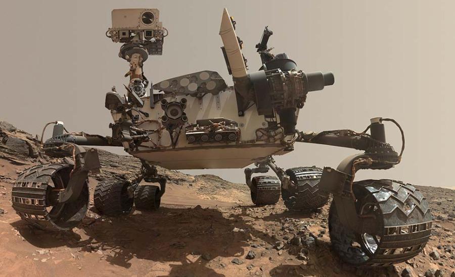 손상된 화성 탐사 로봇 큐리오시티의 발을 대체할 놀라운 차세대 타이어
