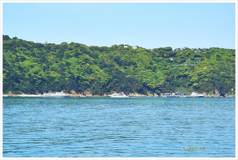 섬여행 매물도 가는 바다 풍경