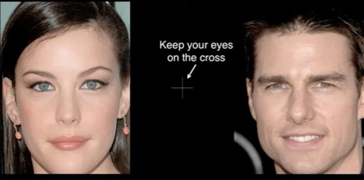 정말 신기한 얼굴 착시 효과 테스트해보세요