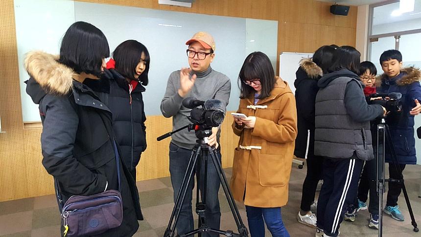 청소년교육공동체 '꿈앗이' - 대전시청자미디어센터 영상제작 교육