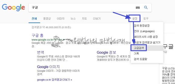 구글 고급 검색