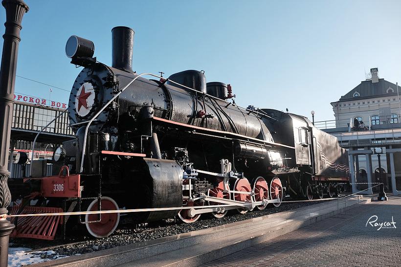 블라디보스톡 역 100년 시베리아 횡단열차의 역사를 만나다.