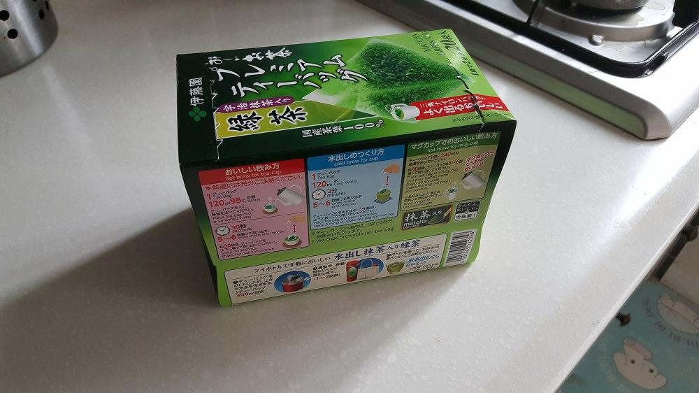 일본 말차 직접 타 먹어 보았습니다.