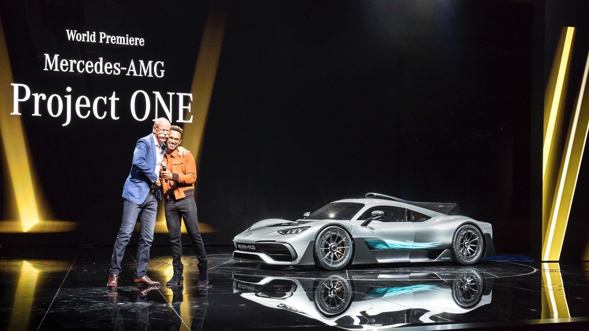 돈만 있으면 누구나 탈 수 있는 F1 머신 메르세데스 AMG 프로젝트 원