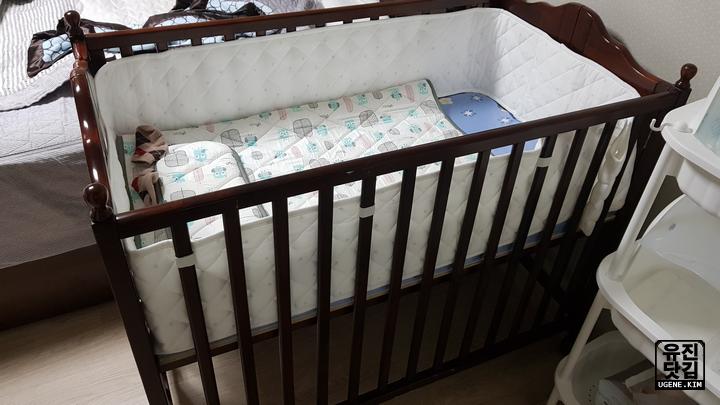 원목 아기 침대