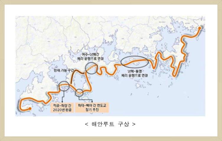 페리,섬 투어 등 남해안 국제 관광 거점 육성안