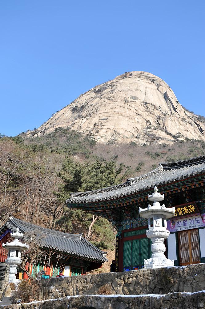2012년1월 북한산