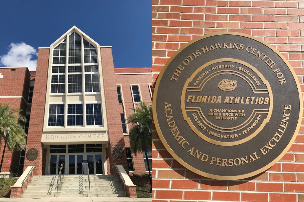 University of Florida의 학생선수를 위한 Hawkins center 1
