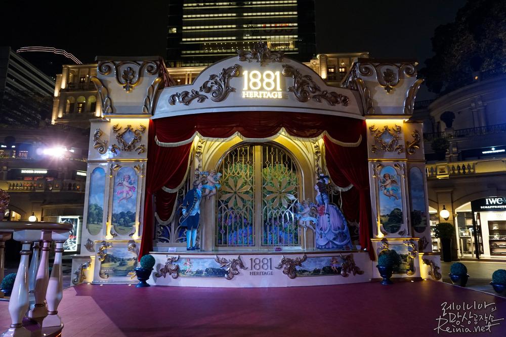 소니 a5100으로 촬영한 홍콩 야경. 저조도 사진