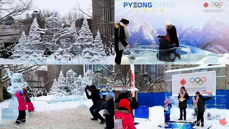 평창 동계 올림픽입니다