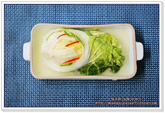 알토란 레시피로 만든 시원한 맛이 일품인 백김치
